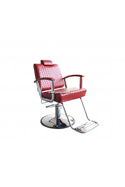 CLASSIC BARBER CHAIR RED 31528-D
