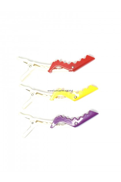 TONI AND GUY CROCODILE ANTI-SLIP SECTIONING HAIR CLIP